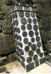 姫路城のコラム軒丸瓦②