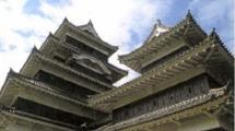 松本城の見所①③乾小天守