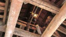 松本城の見所①⑤大天守の天井