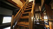 松本城の見所①⑦大天守の階段
