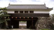 松本城の見所②枡形を作る太鼓門