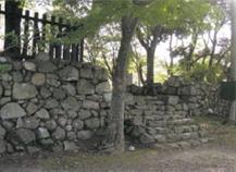 犬山城の見所⑥本丸七曲門跡