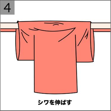 赤ちゃんの祝い着と産着の着せ方04