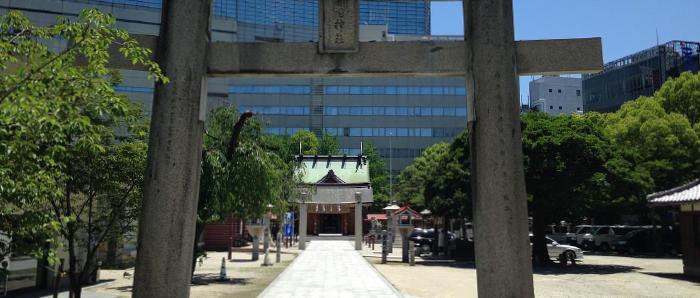 警固神社のお宮参り