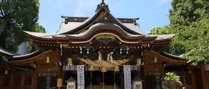 櫛田神社のお宮参り
