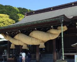 宮地嶽神社のお宮参り